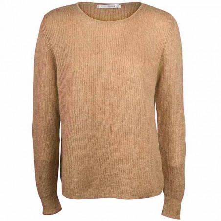 Sibin Linnebjerg Strik, Capri, camel Sibin Linnebjerg strikket mohair sweater dame