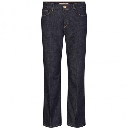 Mos Mosh Jeans, Cecilia Cover Ankle, Dark Blue Denim