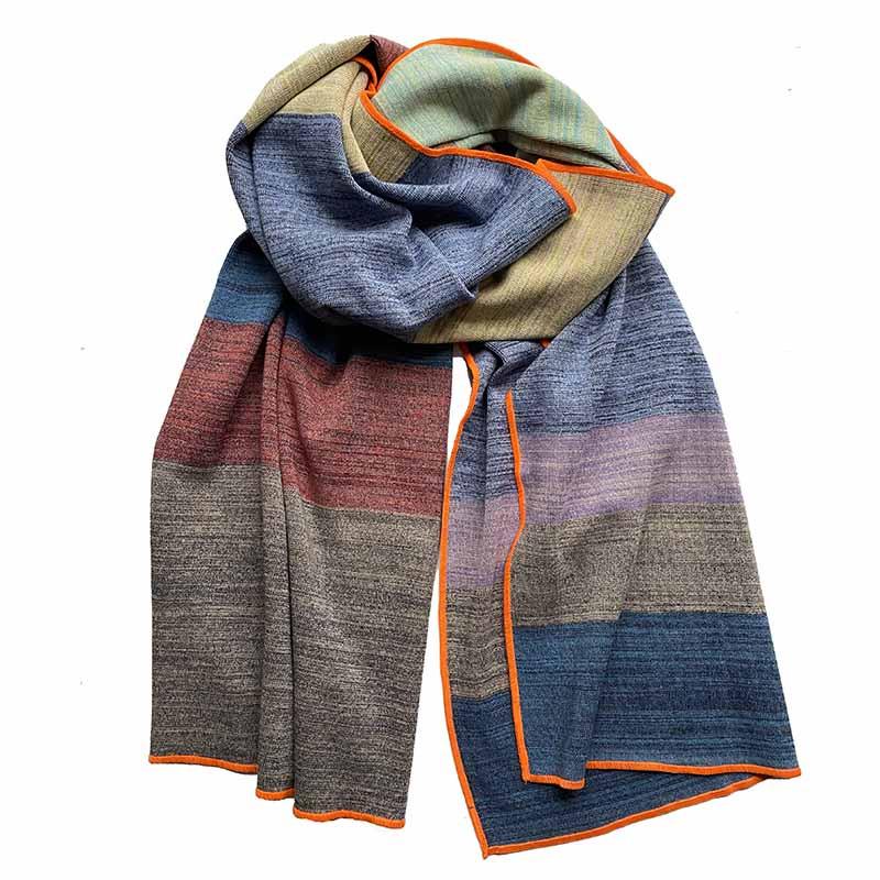 Petroleum Tørklæde, Scarf, Multi