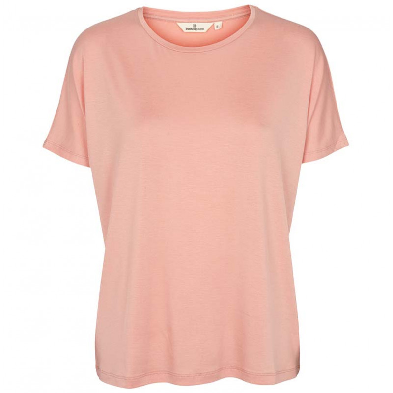 Basic Apparel T-shirt, Joline Tee, Rose Tan
