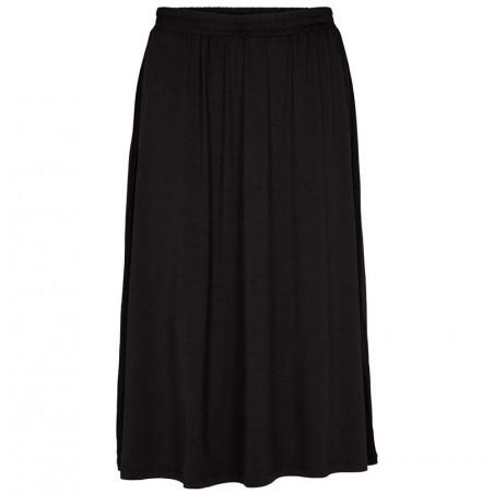 Basic Apparel Nederdel, Joline Skirt, Black