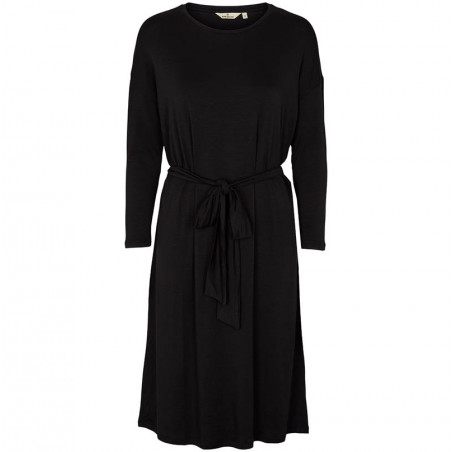 Basic Apparel Kjole, Joline LS Dress, Black