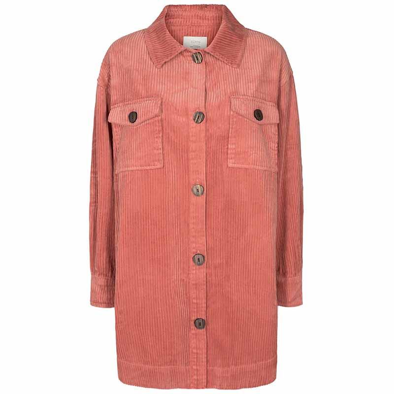 Nümph Skjorte, Nucalah Overshirt, Ash Rose Numph skjorte i fløjl