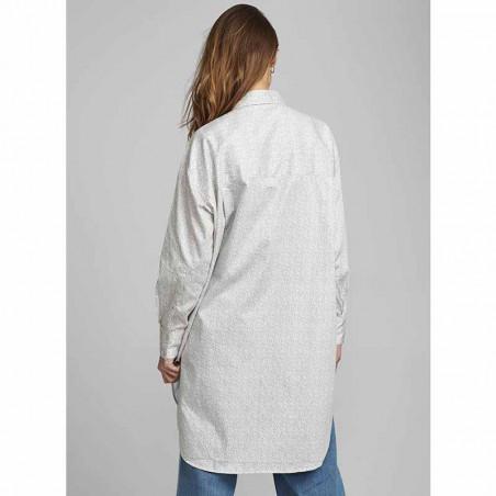 Nümph kjole, Nucaila, Tannin numph oversize skjorte på model ryg