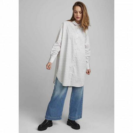 Nümph kjole, Nucaila, Tannin numph oversize skjorte look