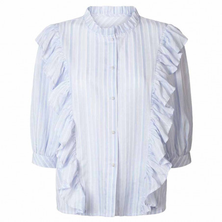 Lollys Laundry Skjorte, Hanni shirt, Light blue