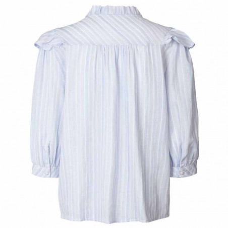 Lollys Laundry Skjorte, Hanni shirt, Light blue ryg