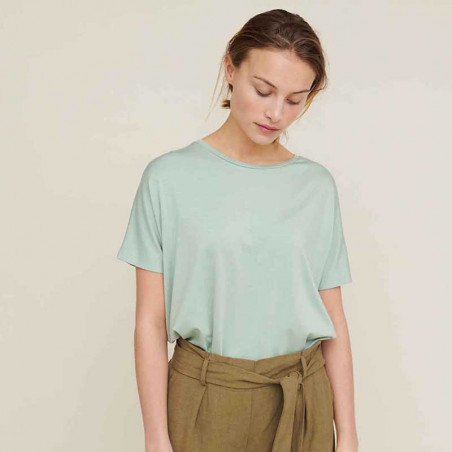 Basic Apparel T-shirt, Joline SS t-shirt, Jadeite look