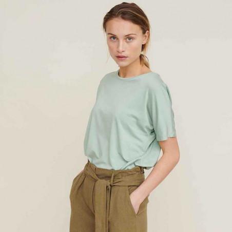 Basic Apparel T-shirt, Joline SS t-shirt, Jadeite