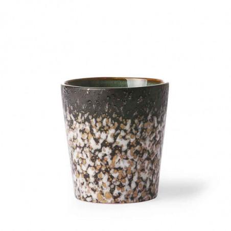HK Living Krus, Ceramic 70's, Mud hk living dk coffee mug  hk living danmark