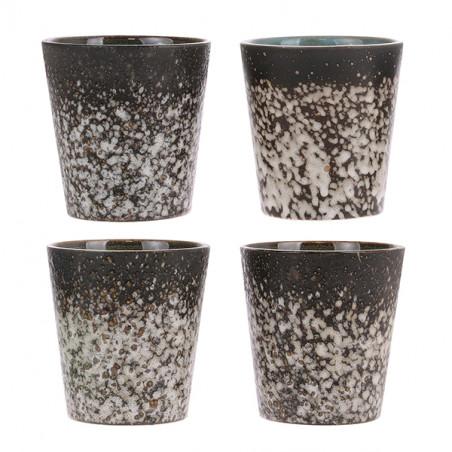 HK Living Krus, Ceramic 70's, Mud hk living dk coffee mug  varianter
