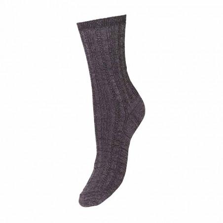 Beck Søndergård Strømper, Glitter Drake Socks, Fudge - Beck Söndergaard socks