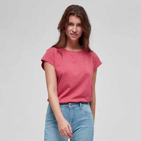 Minus T-shirt, Leti tee, Pink Lemonade på model