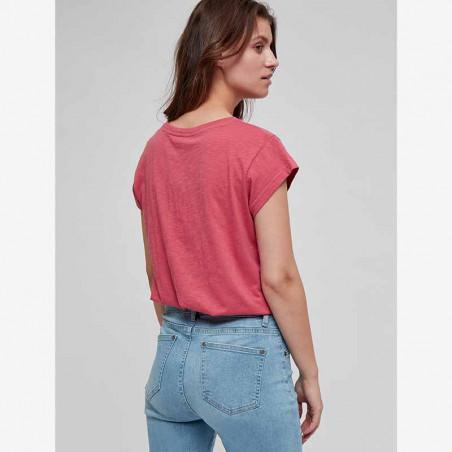 Minus T-shirt, Leti tee, Pink Lemonade på model ryg