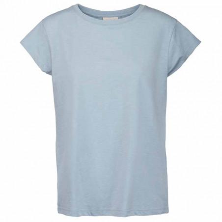 Minus T-shirt, Leti tee, Dusty Blue, Minus tøj til kvinder