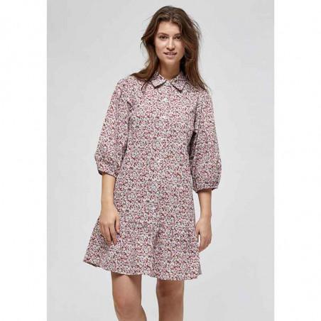 Minus Kjole, Rasmina Dress, Pink Flower Print lookbook Minus Fashion
