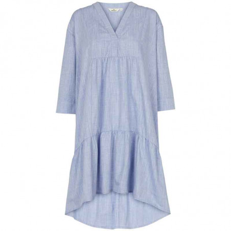 Basic Apparel Kjole, Abby Dress Harriet, Navy Basic Apparel økologisk tøj til kvinder