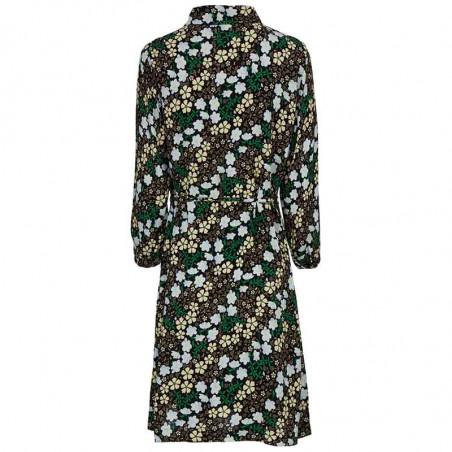 Modström Kjole, Harlow Print Dress, Blossom Field Modstrøm kjole ryg
