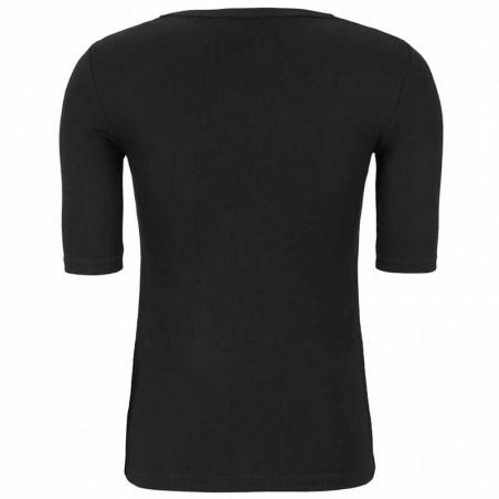Soft Rebels Bluse, SRNorma Top, Black SoftRebels T-shirt ryg