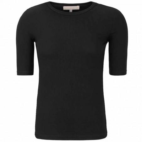 Soft Rebels Bluse, SRNorma Top, Black SoftRebels T-shirt