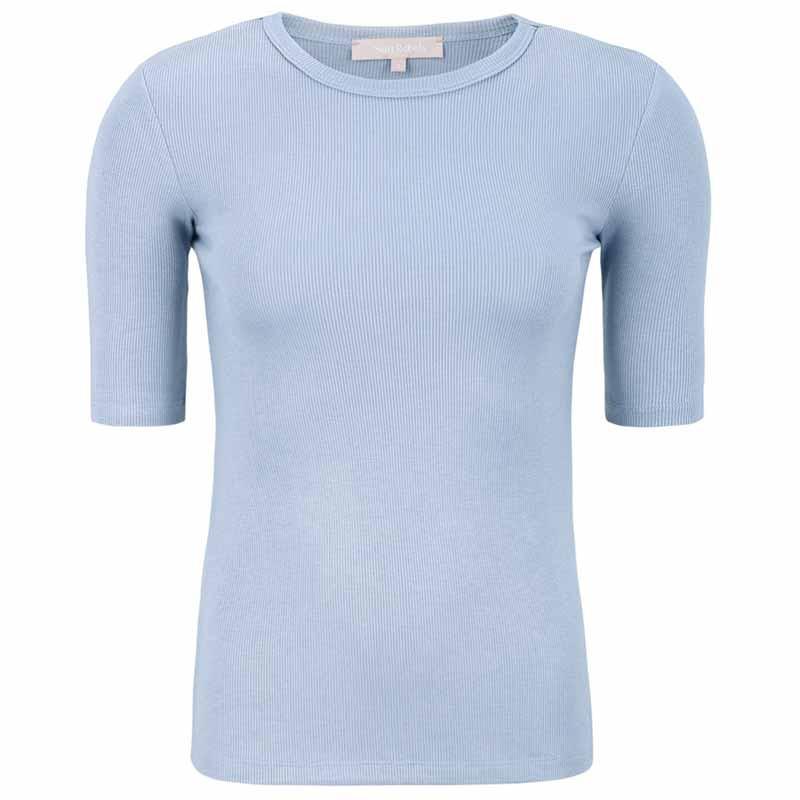 Soft Rebels Bluse, SRNorma Top, Zen Blue Softrebels t-shirt