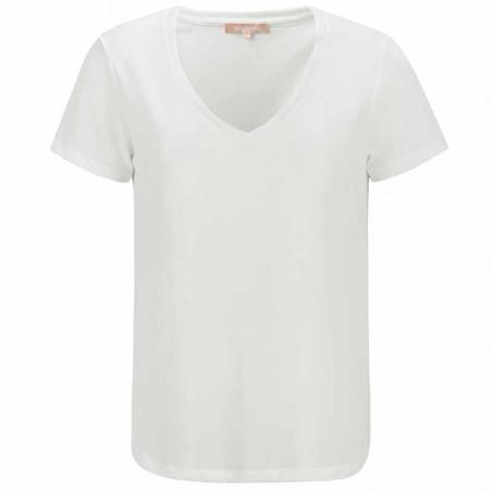 Soft Rebels T-shirt, SRElla V-neck, Snow White