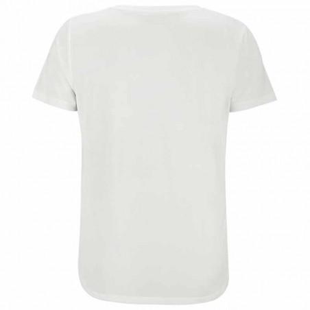Soft Rebels T-shirt, SRElla V-neck, Snow White ryg