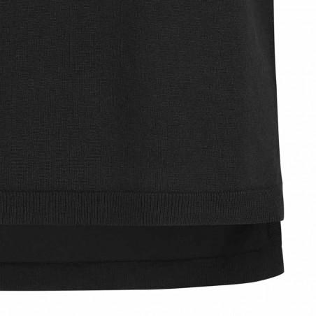 Soft Rebels Vest, SRMarla V-neck Loose Fit, Black strikvest detalje slids detalje