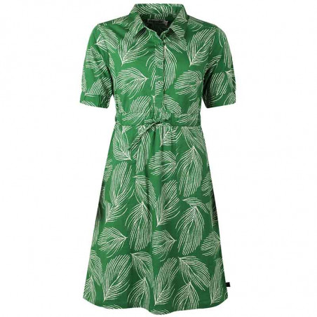 Danefæ Kjole, Susanne Dress, Green Chalk Palma