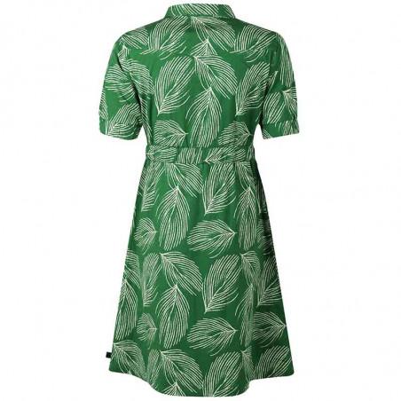 Danefæ Kjole, Susanne dress, Green Chalk Palma ryg