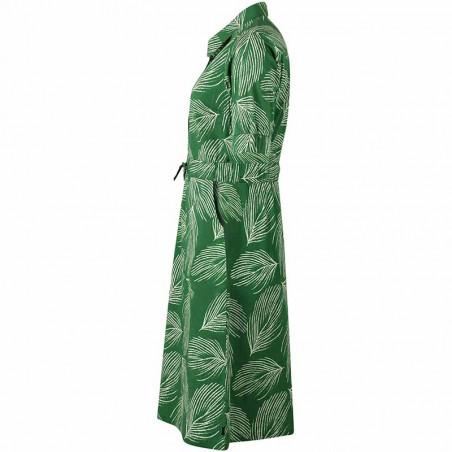 Danefæ Kjole, Susanne dress, Green Chalk Palma side