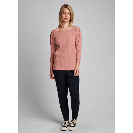 Nümph T-shirt, Nudari, Ash Rose numph bluse rosa på model look