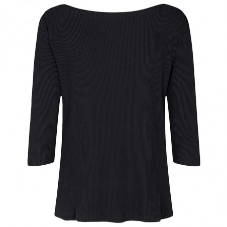 Nümph T-shirt, Nudari, Caviar Numph bluse ryg