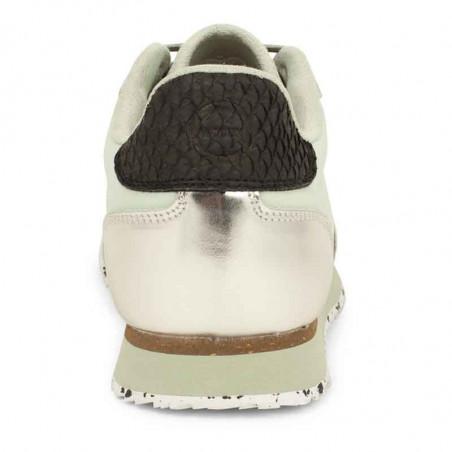 Woden Sneakers dame, Nora IlI, Desert Sage woden sko dame hælkap