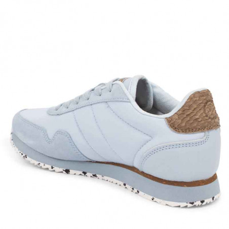 Woden Sneakers, Nora III Leather, Ice Blue Woden sneakers bagfra
