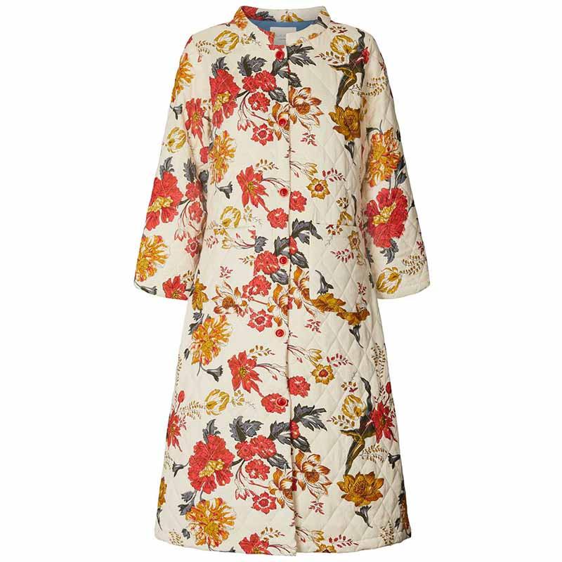 Lollys Laundry Jakke, Boris, Flower Print LollysLaundry Quilt jakke
