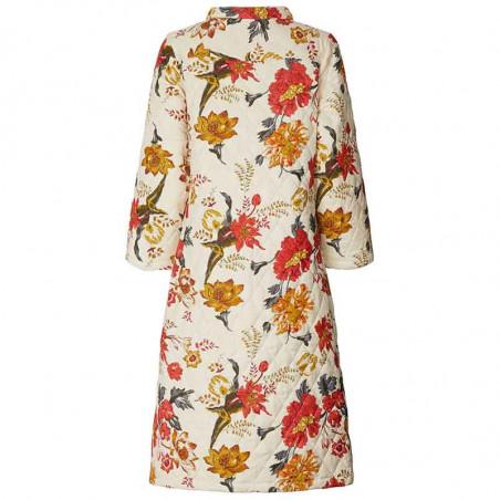 Lollys Laundry Jakke, Boris, Flower Print LollysLaundry Quilt jakke bagfra