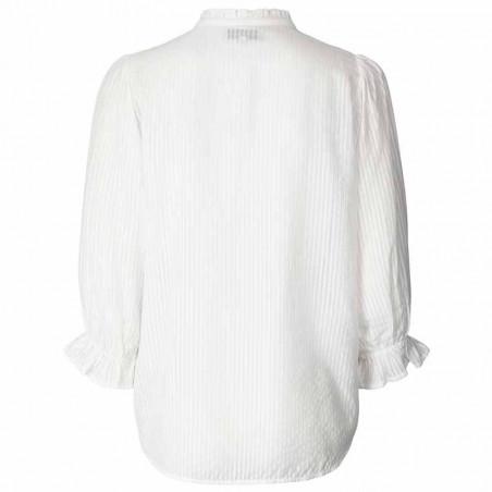Lollys Laundry Bluse, Huxi Shirt, White ryg