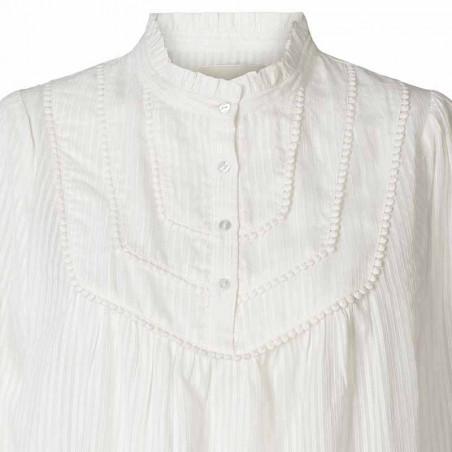Lollys Laundry Bluse, Huxi Shirt, White detaljer
