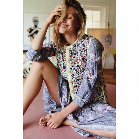 Lollys Laundry Kjole, Naja Dress, Flower Print modelfoto