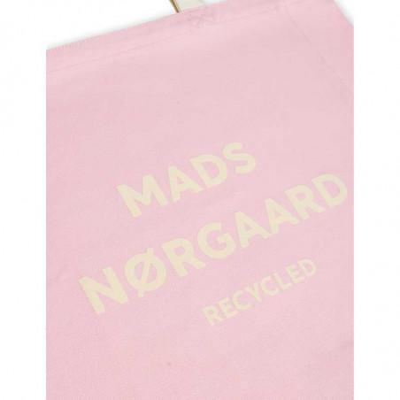 Mads Nørgaard Net, Athene Recycled, Light Pink Mads Nørgård taske -detalje