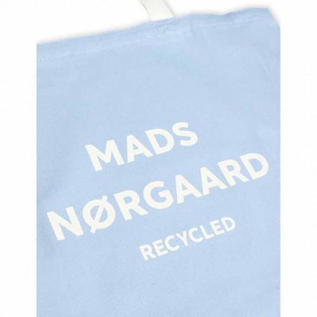 Mads Nørgaard Net, Athene Recycled, Forever Blue Mads Nørgård mulepose detalje med logo