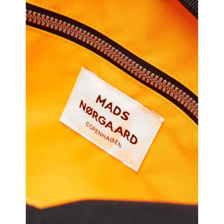Mads Nørgaard Taske, Cappa Mechanics, Black Mads Nørgaard Cappa Bel collage taske orange for