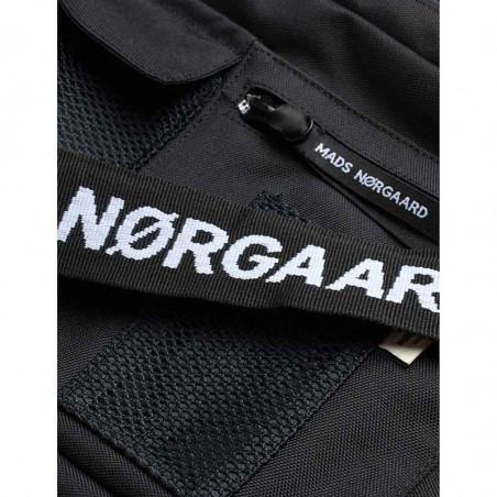 Mads Nørgaard Taske, Cappa Mechanics, Black Mads Nørgaard Cappa Bel collage taske med logo rem