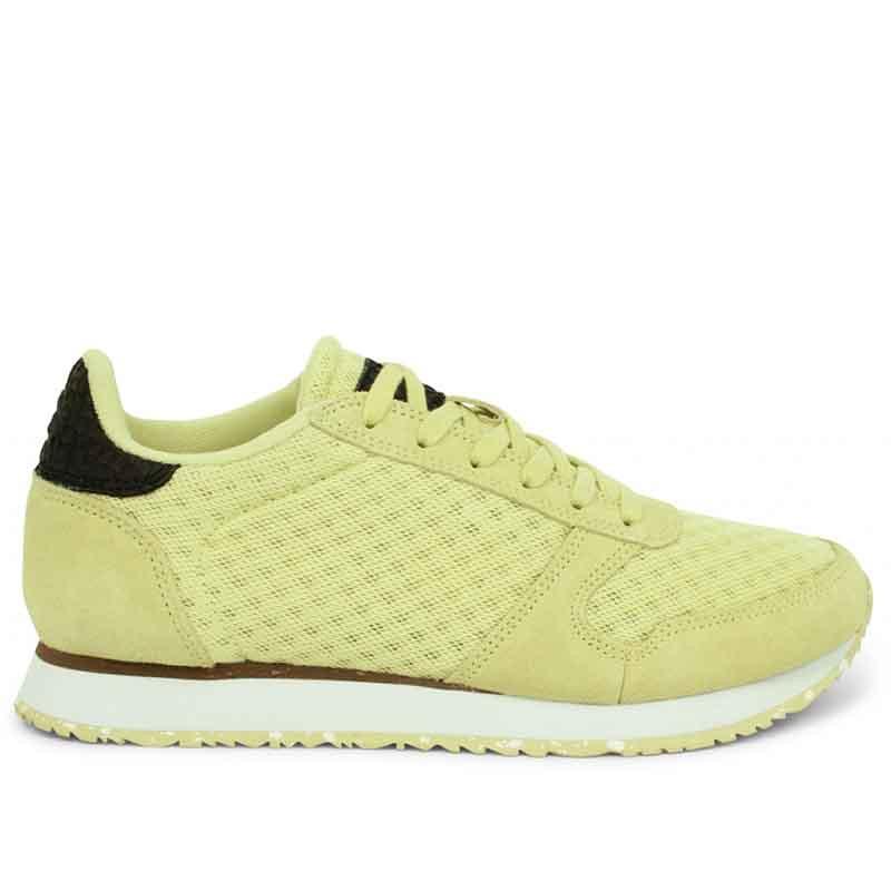 Woden Sneakers, Ydun Suede Mesh II, Lemongrass Woden Dk dame sneakers