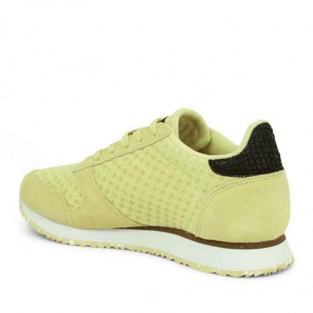 Woden Sneakers, Ydun Suede Mesh II, Lemongrass Woden Dk dame sneakers bagfra