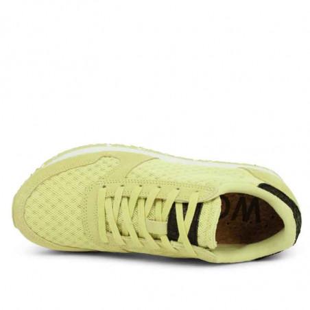 Woden Sneakers, Ydun Suede Mesh II, Lemongrass Woden Dk dame sneakers top