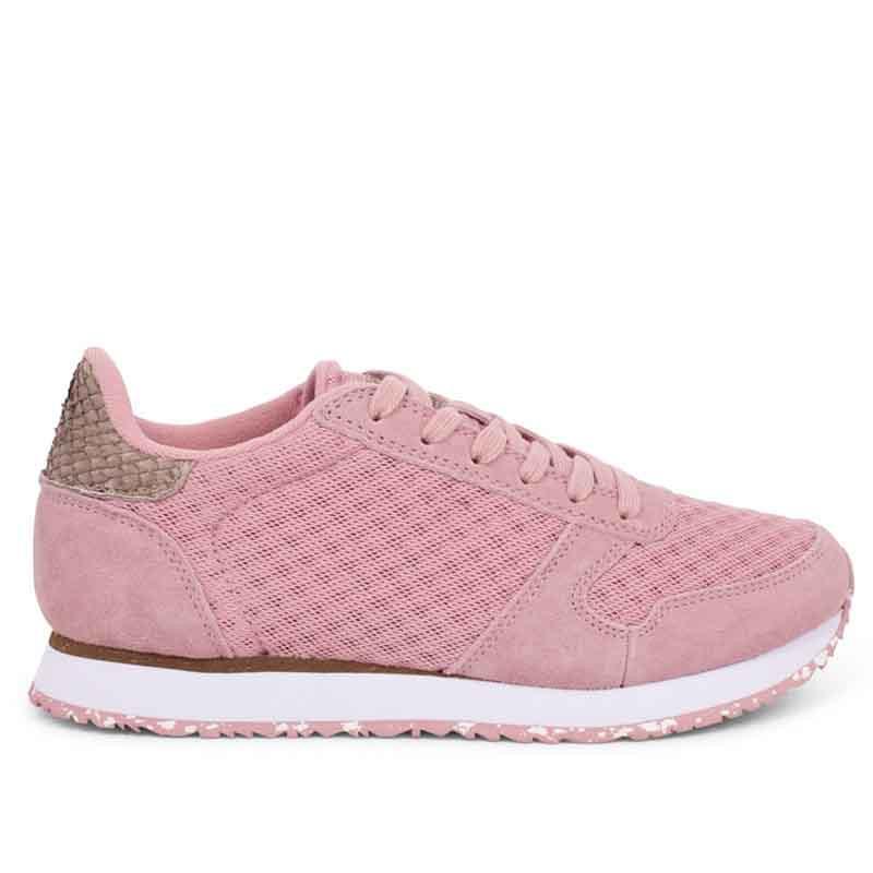 Woden Sneakers, Ydun Suede Mesh II, Soft Pink Woden Dk dame sneakers