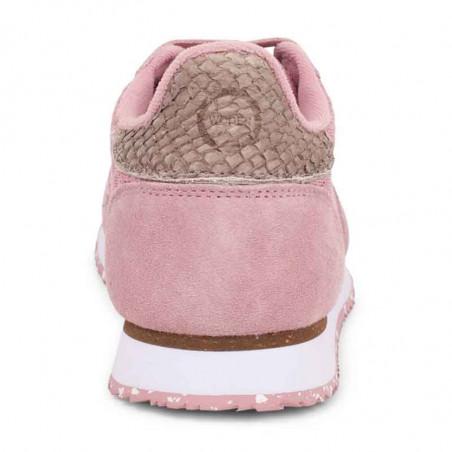 Woden Sneakers, Ydun Suede Mesh II, Soft Pink Woden Dk dame sneakers holdkappe