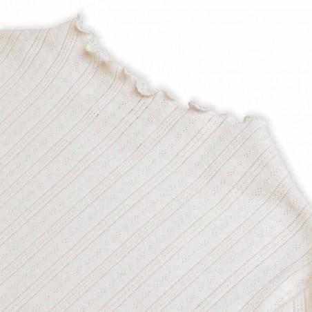 Mads Nørgaard Bluse, Pointella Trutte, Off White Mads Nørgård t-shirt detalje